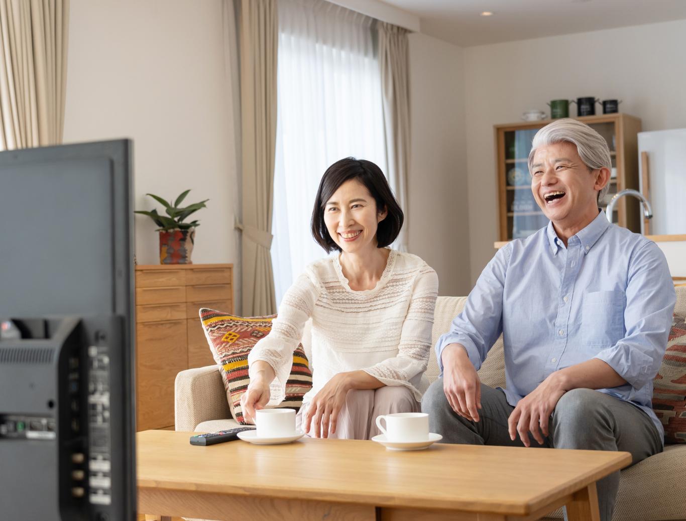 高齢者でも言葉が聴き取りやすい。